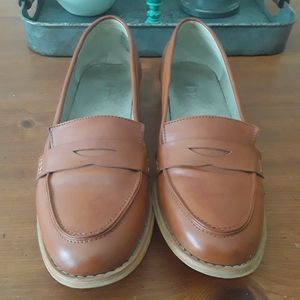 Loafer, cognac colored, size 11